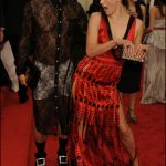 Marc Jacobs with Mila Jovovich in Prada