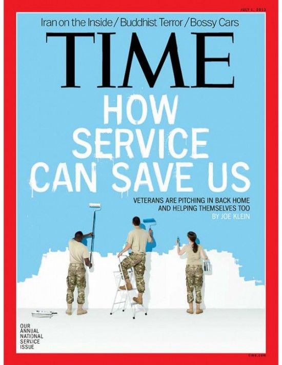 TIME-How Service Can Save Us